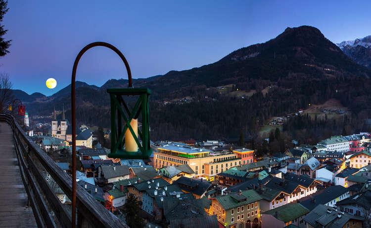 Emmaus Weg Berchtesgaden Laterne