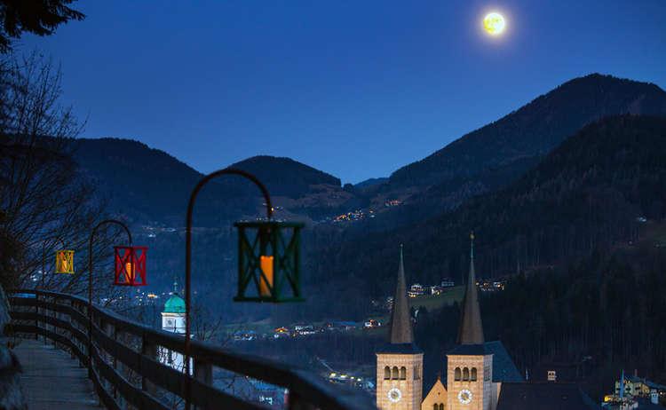 Emmaus Weg Berchtesgaden Mond