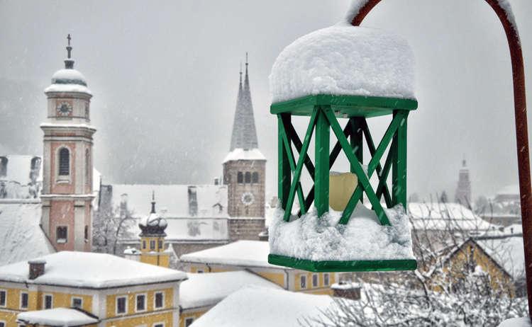 Emmausweg Berchtesgaden Laterne