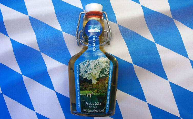Enzian Bügelflasche