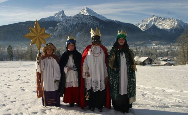 "'incensing' night"" Epiphany in Berchtesgaden"