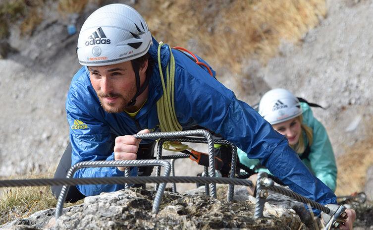 Erste Schritte Im Klettersteig Klettersteigschule Berchtesgaden