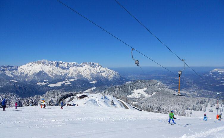 Roßfeld: Das schneesichere Familien-Skigebiet in Berchtesgaden