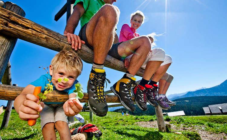 Familien Wandern