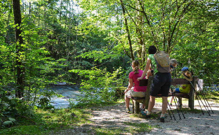 Familien Wanderung Koenigsseer Fussweg