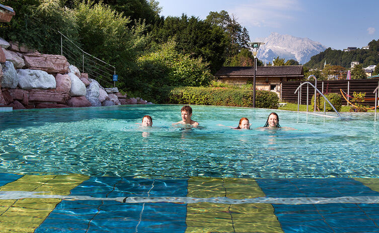 Watzmann Therme: The family-friendly thermal Spa