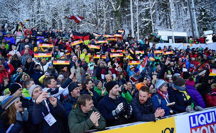 Fans Viererbob Koenigssee 1