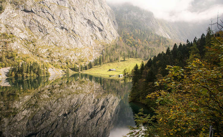 Fischunkelalm Obersee Herbst