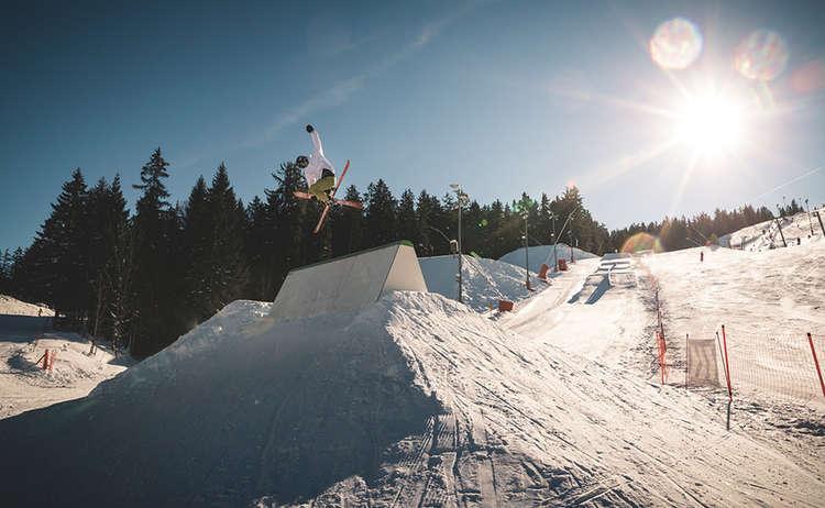 Freestyle Skiing at Götschen