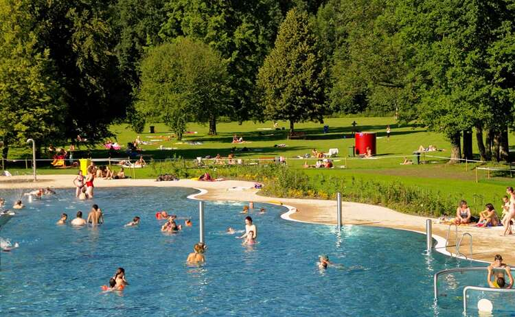 Freibad Brodhausen in Freilassing