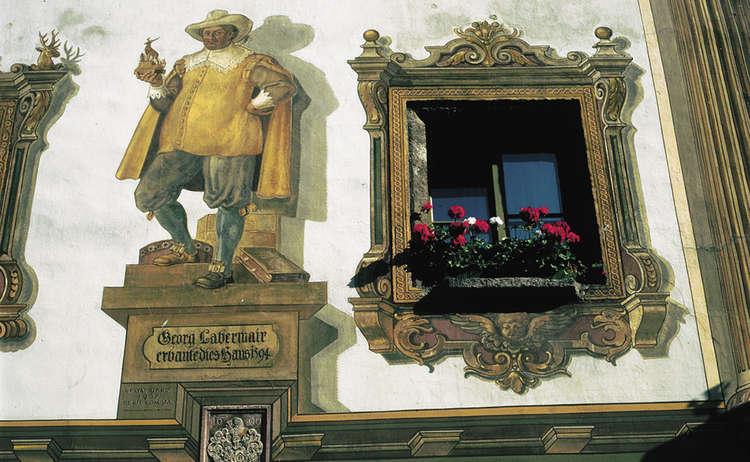 Fresken Am Hirschenhaus Bgd
