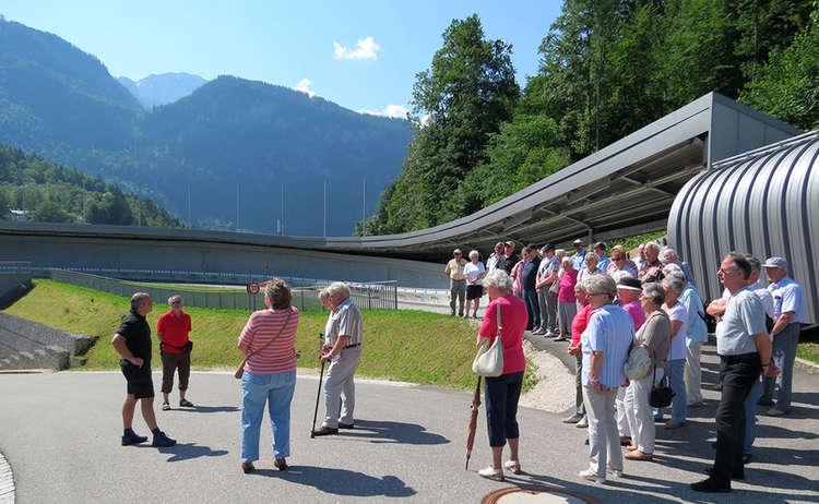 Führung an der Kunsteisbahn Königssee