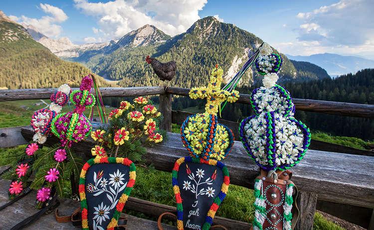 Fuikl Almabtrieb Berchtesgaden