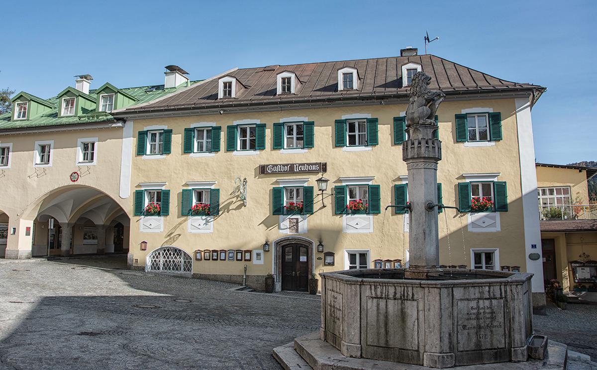 Fussgaengerzone Berchtesgaden 12