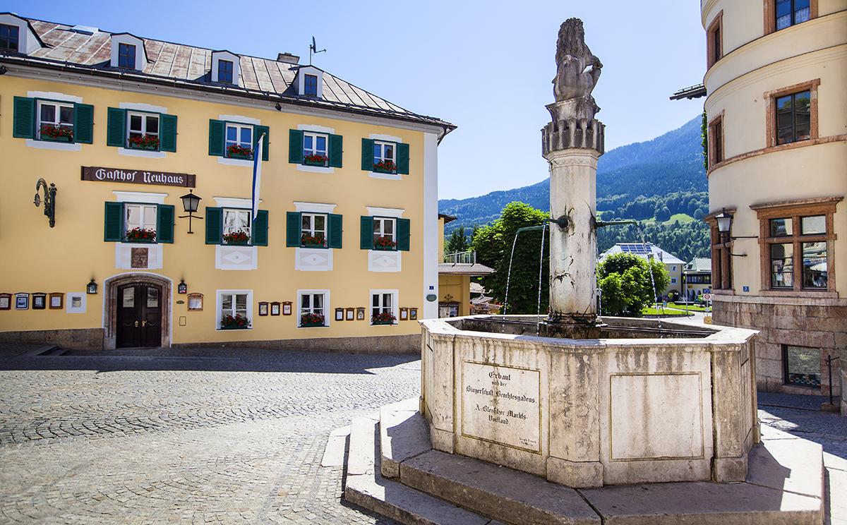 Fussgaengerzone Berchtesgaden 14