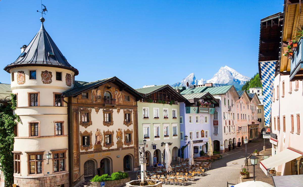 Fussgaengerzone Berchtesgaden 15