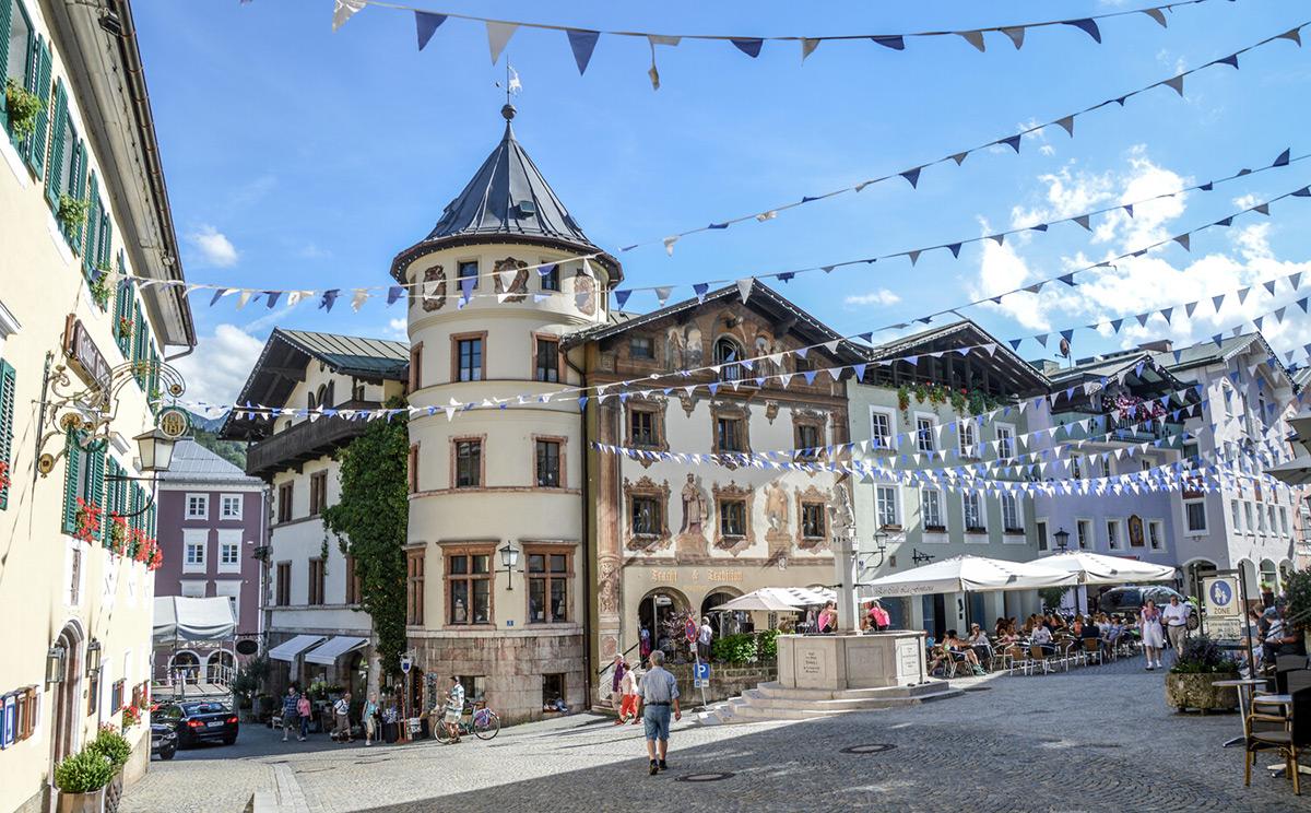 Fussgaengerzone Berchtesgaden 16