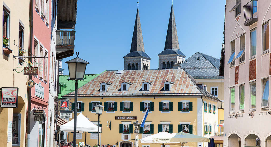 Fussgaengerzone Berchtesgaden 3