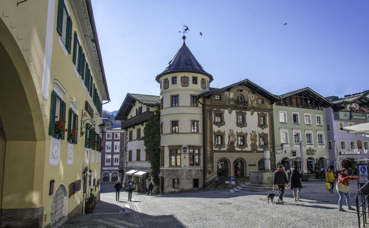 Fussgaengerzone Berchtesgaden 5