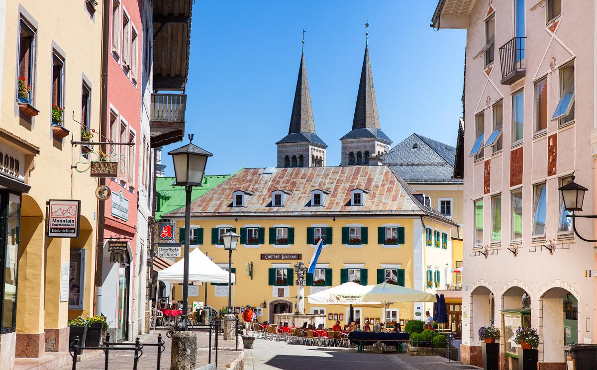 Fussgaengerzone Berchtesgaden 6