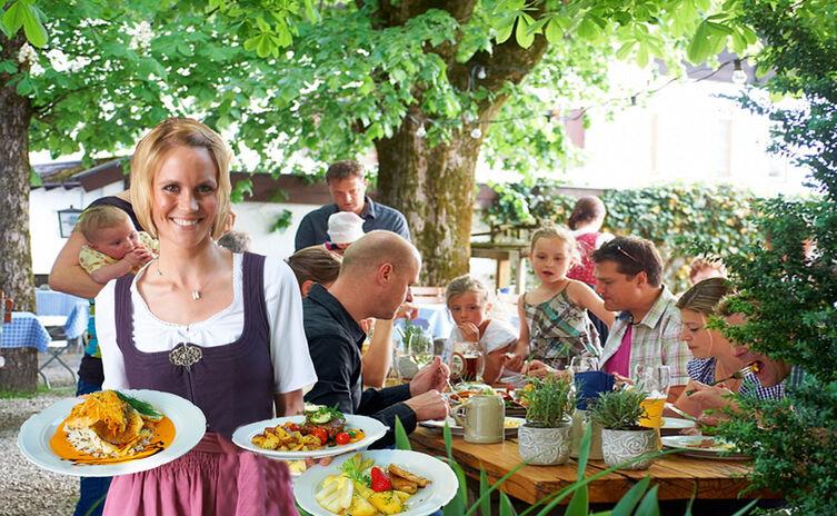 Gasthof Restaurant Biergarten