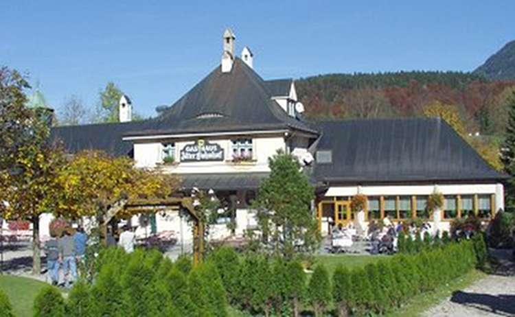Gaststaette Alter Bahnhof Herbst