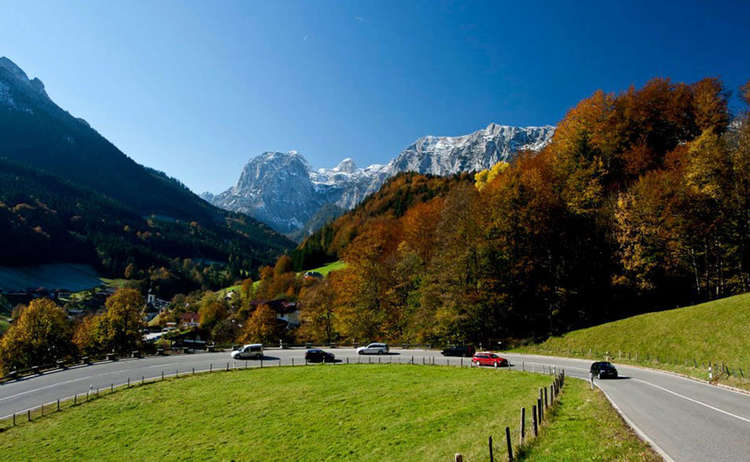 German Alpine Road Ramsau