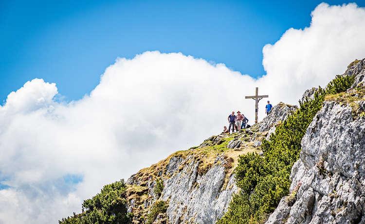 Der Gipfel des Berchetsgadener Hochthrons