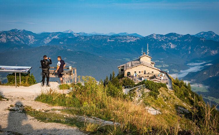 Obligatorisch: Ein Gipfelfoto am Kehlstein