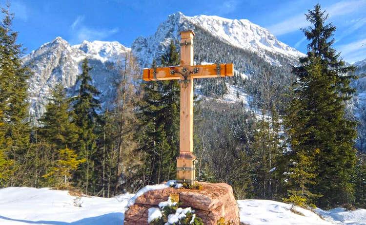 Gipfelkreut Brankopf Ann Kathrin