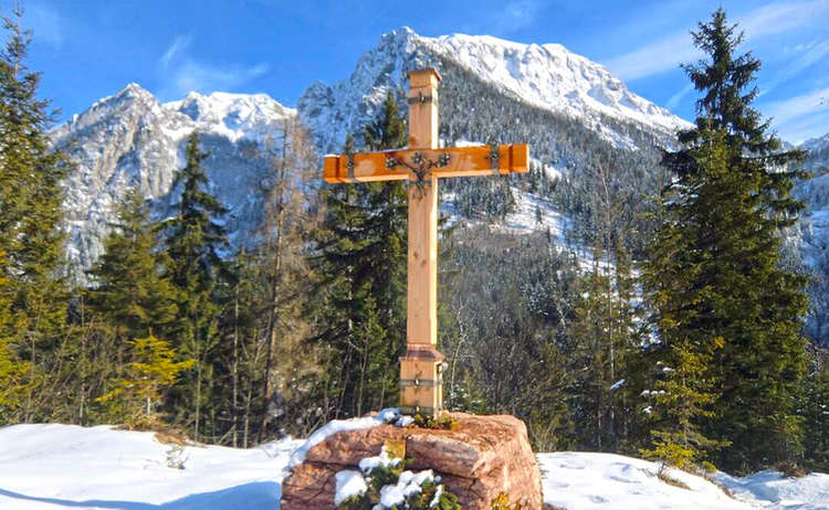 Gipfelkreuz Brandkopf © Ann-Kathrin Helbig