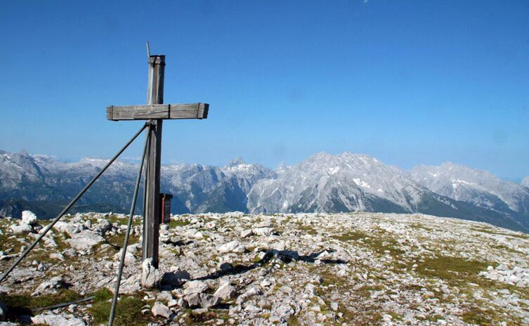Gipfelkreuz Hohes Brett Josef Wurm