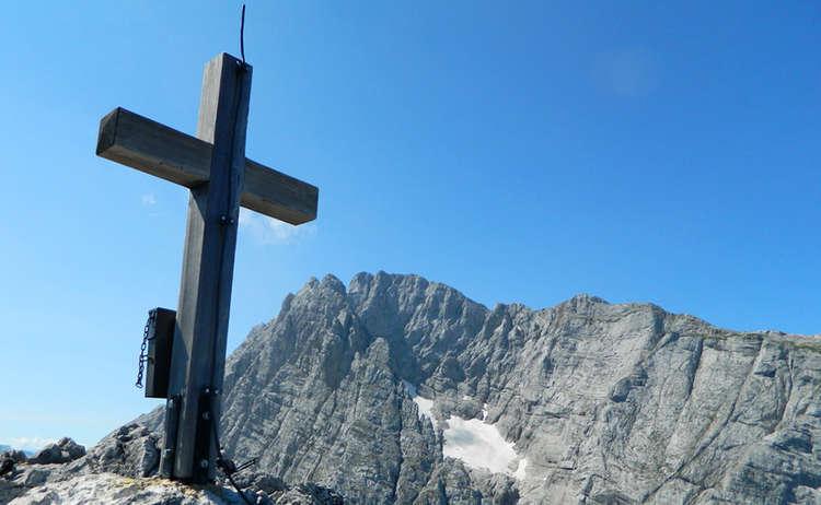 Gipfelkreuz Schaertenspitze