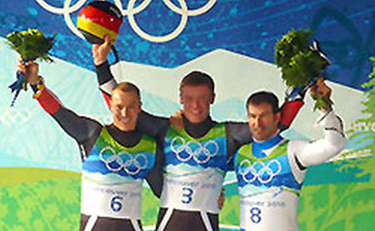 Olympia Gold mit Felix Loch