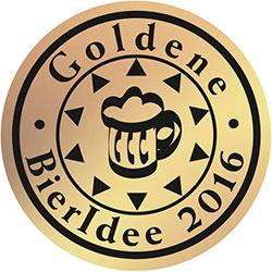 Logo Goldene Bieridee