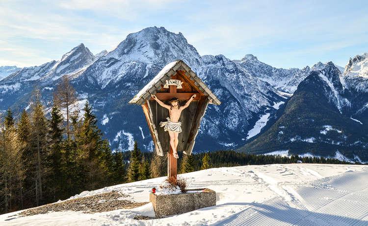 Gipfelkreuz Hirscheck | Ramsau Hochschwarzeck