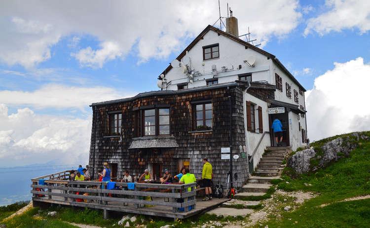 Große Pause am Stöhrhaus auf dem Untersberg