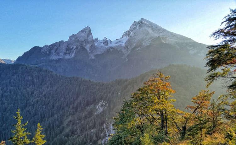 Gruenstein Herbst Wanderung