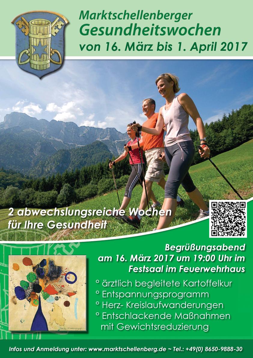 Plakat Marktschellenberger Gesundheitswochen 2017