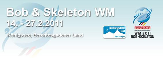Bob und Skeleton WM logo