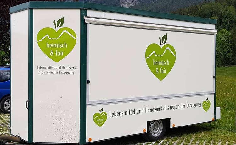 Der Marktwagen von Heimisch & Fair
