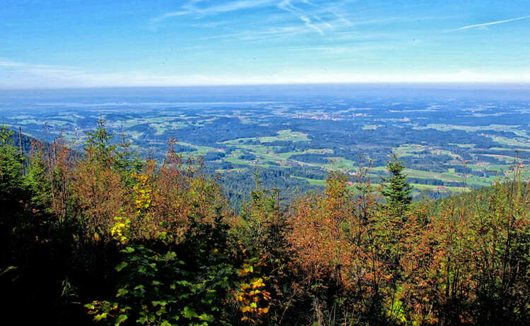 Herbst Wanderung Stoisser Alm Rupertiwinkel