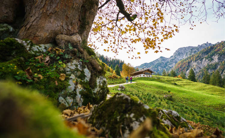 Herbstwanderung Ragertalm Klausbachtal Ramsau