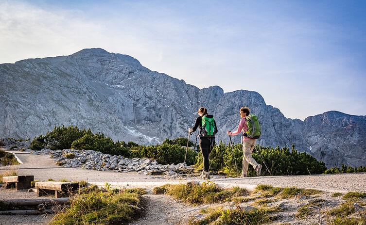 Hiking Kehlstein Mountain