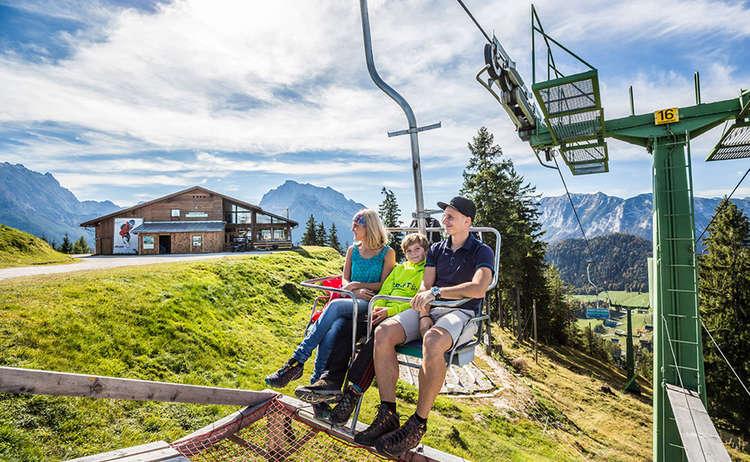 Hirscheck Chairlift Ramsau Berchtesgaden