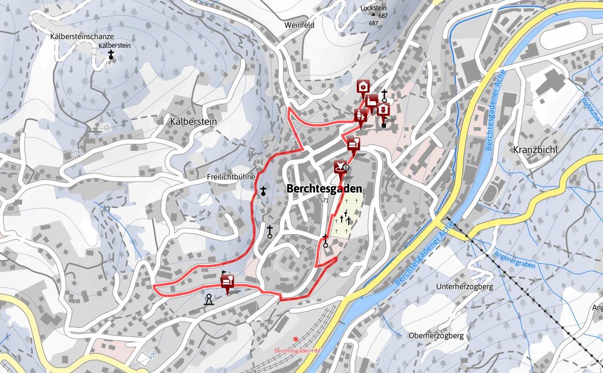 Historischer Spaziergang durch Berchtesgaden
