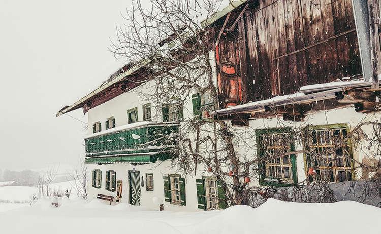 Das Hochgartlehen im Winter