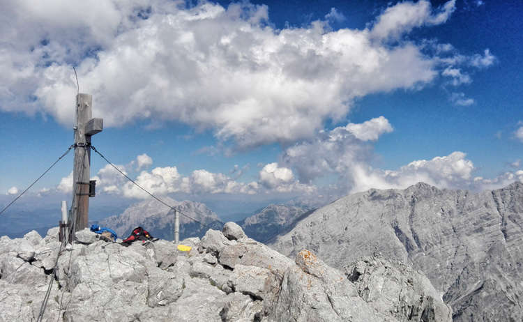 Hochkalter Gipfelkreuz