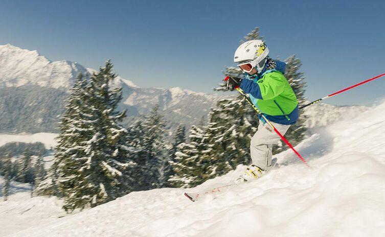 Ski fahren am Hochschwarzeck