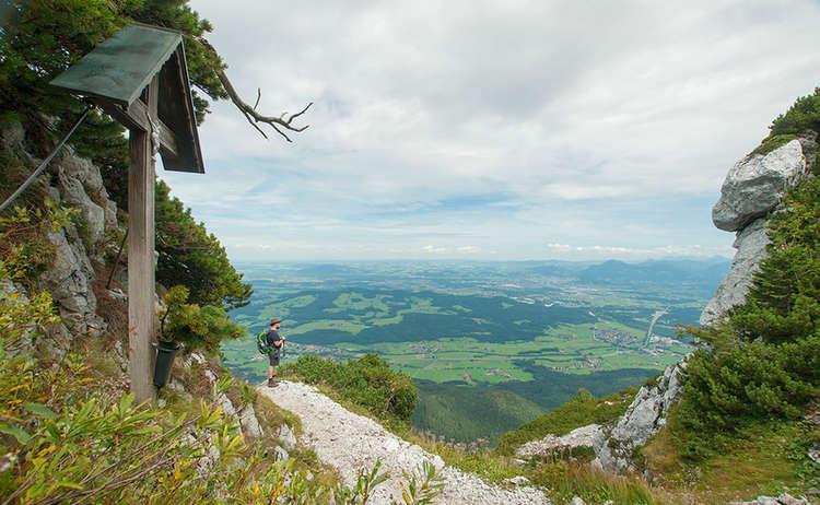 Hochstaufen Von Schloss Staufeneck